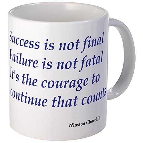 CafePress - Winston Churchill Quote Mug - Unique Coffee Mug, Coffee Cup (Winston Mug Churchill)
