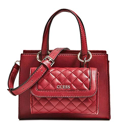 GUESS Women's Sienna 2-in-1 Mini Satchel Red One Size
