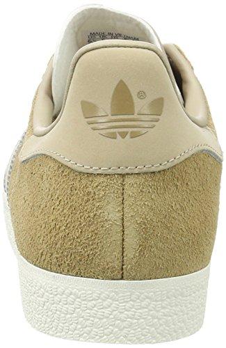 Adidas Herre Gazelle Sneakers, Gelb Beige (pap / Spor Khaki F17 / Off Hvid)