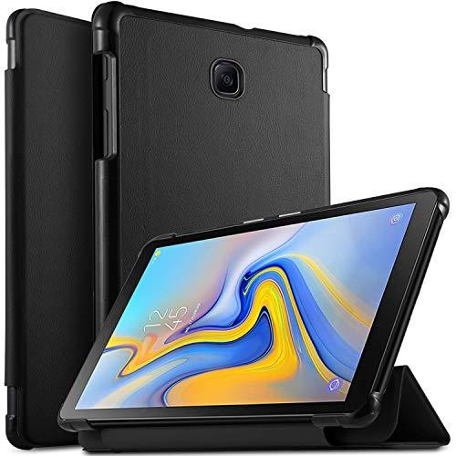 Luibor Samsung Galaxy TAB A 8.0 2018 T387 Case - Ultra Lightweight Slim Smart Folding Cover Case for Samsung Galaxy TAB A 8.0 2018 T387 Tablet (Black)