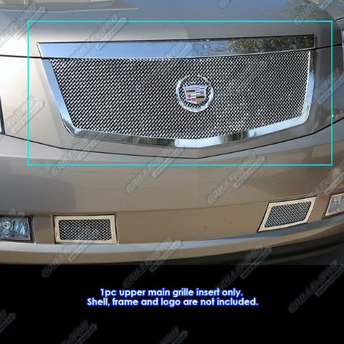 Cadillac Escalade Grille Replacement (APS A76462T Chrome Grille Replacement for select Cadillac Escalade Models)