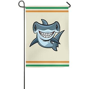 Amazon com: Starwshton Blue Sharks And Sharp Tooth Marine Animals