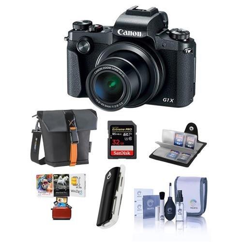 Canon PowerShot G1 X Mark III Digital Point & Shoot Camera -