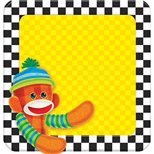 TREND enterprises, Inc. Sock Monkeys Note Pad-Shaped, 50 sheets