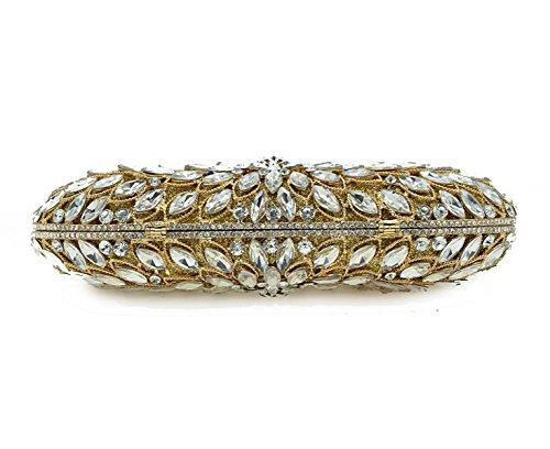 D'embrayage Cristal En gold Sac Sac Petit Luxe Main De Mode à De De Dames Sac Dîner De De Soirée Diamant Chaîne De De Strass Sac De Sac Banquet De dqH4xdfU