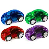 DICPOLIA 8Pcs Mini Pull Back Cars Puzzle Early Education Toy Gift,Car Toys for Kids Toddlers Baby...
