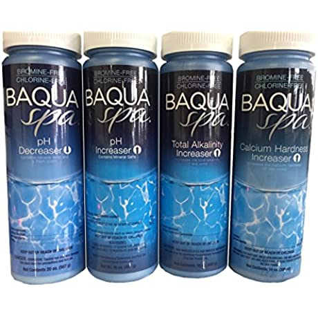 Baqua Spa Balancer Bundle Test Strips