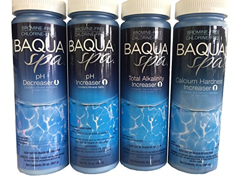 (Baqua Spa Water Balancers with 3 Insparation 1/2 oz Sampler Packs)
