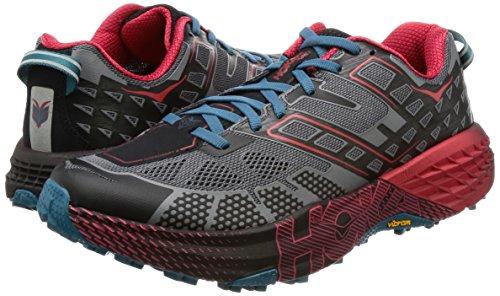 Hoka One One Speedgoat 2 - Zapatillas para correr - rojo/negro Talla del calzado US 8,5 | 42 2017