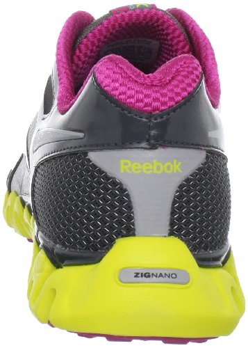REEBOK Zignano Fly 2 Damen Jogging Freizeit Fitness Lauf Sport Schuh anthra G40