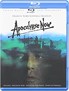 Apocalypse Now (Three-Disc Full Disclosure Edition) (Apocalypse Now / Apocalypse Now Redux / Heart of Darkness) + Booklet [Blu-ray]