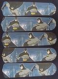 batman ceiling fan blades - Ceiling Fan Designers 52SET-KIDS-BBMS Batman Superhero 52 in. Ceiling Fan Blades Only