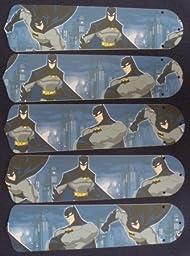 Ceiling Fan Designers 52SET-KIDS-BBMS Batman Superhero 52 in. Ceiling Fan Blades Only