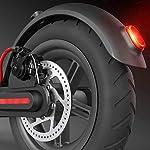 HAOYF-Monopattino-Elettrico-Pieghevole-per-Adulti-E-Scooter-con-Batteria-al-Litio-66Ah-E-Pneumatici-Ammortizzati-da-85-Doppio-Sistema-di-Frenatura-Regalo-per-Bambini-E-AdultiBianca