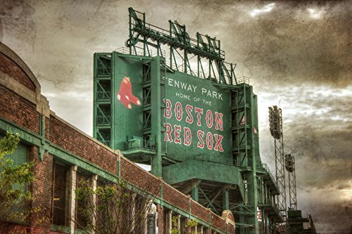 Fenway Park Artwork (Boston Red Sox Fenway Park Scoreboard Art Print)