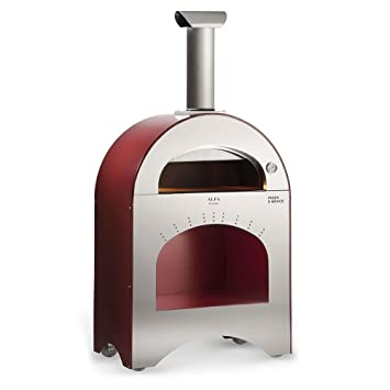 Alfa Horno de Leña para Exterior (Acero Pizza Pizza y Brace