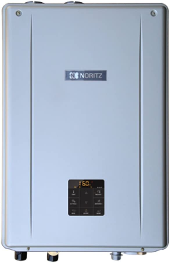 Noritz NRCB199DV-NG Indoor Direct Combination Boiler (Standard Vent Convertible) with Built-in Pump, max 199,900 DHW, 11.1 Gpm, 120,000 Btuh Space Heating-Natural Gas