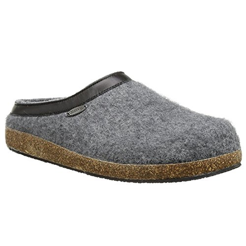 Giesswein Mens CHIEMSEE Slate Wool Slippers 44 EU
