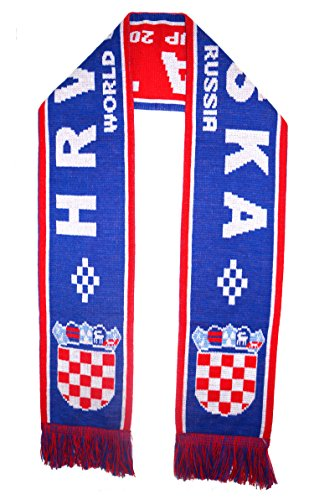 WORLD CUP 2018 FANS FAVORITE SOCCER SCARVES (CROATIA)