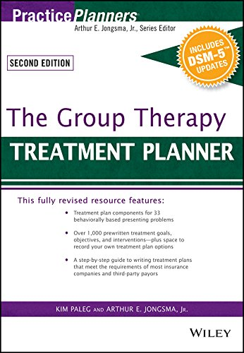 The Group Therapy Treatment Planner, with DSM-5 Updates (PracticePlanners)