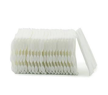 3 capa de algodón orgánico Facial Puff maquillaje almohadillas de algodón limpieza Slice algodón Toallitas Desmaquillantes perfecto para descarga maquillaje ...