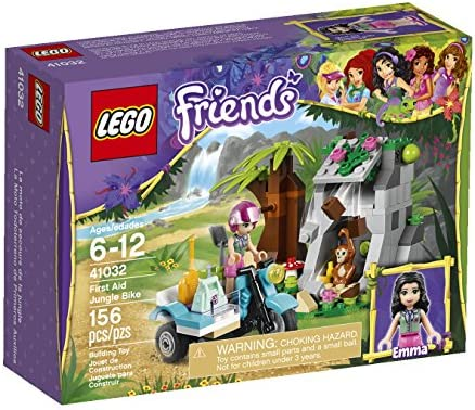 LEGO Friends First Aid Jungle Bike 41032 Building Set by LEGO ...