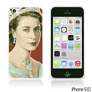 OnlineBestDigitalTM - Celebrity Star Hard Back Case for Apple iPhone 5C - Beautiful Queen Elizabeth II