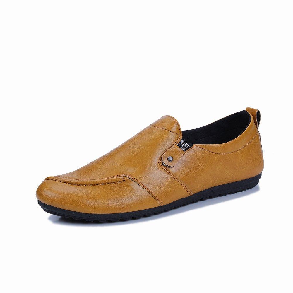 YTTY Peas Schuhe Persönlichkeit Gezeiten Schuhe Grün Lässig Weichen Boden Pedal Faule Schuhe