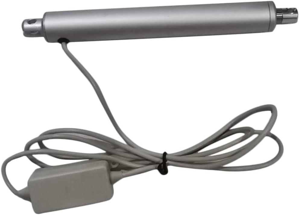 Shiwaki 24V 150N Actuador Lineal de Aleación de Aluminio, Estructura Compacta, Peso Ligero, Duradero - 50 mm