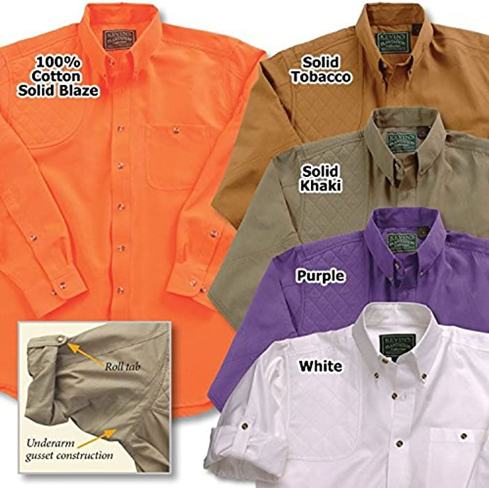 64c159f94d467 Kevin's Fine Outdoor Gear and Apparel Kevin's LS Single Right Patch  Shooting Shirt (Small,