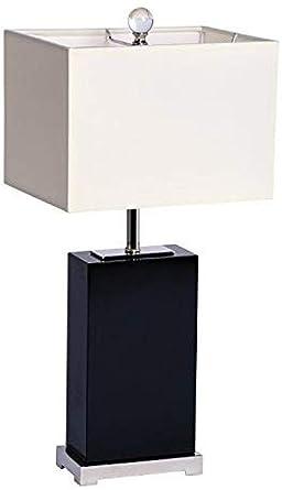 Lámpara De Mesa Rectangular Iluminada 1202 Lámpara De Cristal ...