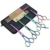 Best LILYS PET Grooming Scissors - LILYS PET Safe Round-Tip Professional PET DOG Grooming Review