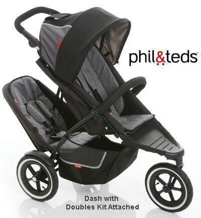 Amazoncom Phil And Teds Dash Buggy With Doubles Kit Black