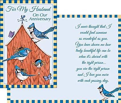 Prime Carte De Joyeux Anniversaire De Vœux Pour Mon Mari