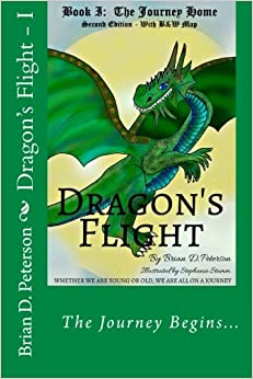 Book Dragon's Flight - I: The Journey Home - With BandW Map: Volume 1