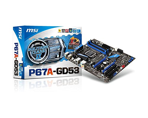 MSI LGA1155/Intel P67 B3/DDR3/SATA3&USB3.0/A&GbE/ATX for sale  Delivered anywhere in USA