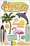 Paper House Productions STDM-0088E 3D Cardstock Stickers, Florida (3-Pack)