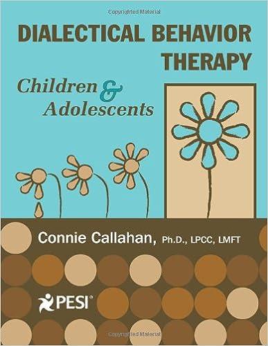 Amazon.com: Dialectical Behavior Therapy: Children & Adolescents ...