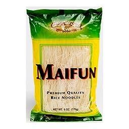 Golden Star Maifun Rice Noodles, 6 Ounce -- 8 per case.