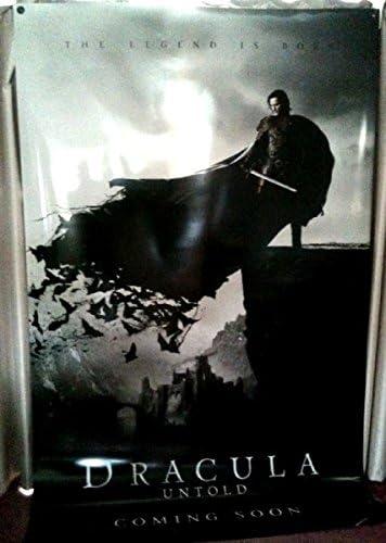 Cinema Banner Dracula Untold 2014 Luke Evans Dominic Cooper Charles Dance Amazon Co Uk Kitchen Home