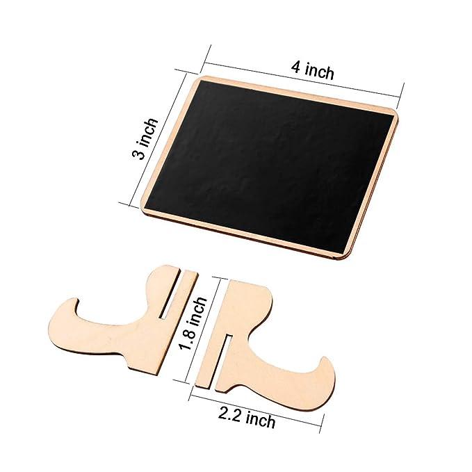 Amazon.com: Mini Pizarras signos con caballete soporte de ...