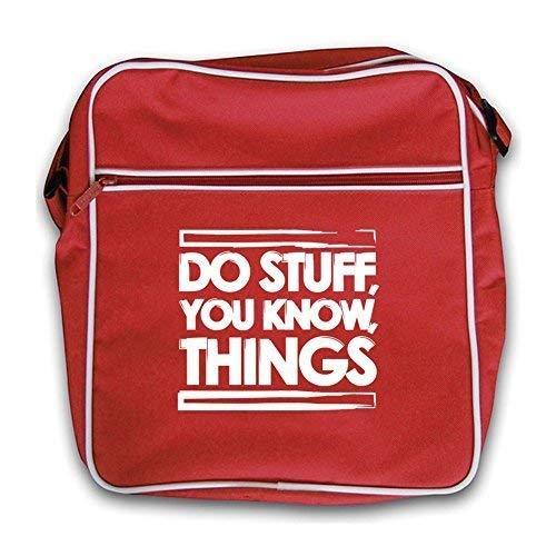 Red Do Flight Things Know Retro Dressdown You Bag Stuff zawq81