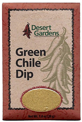 Desert Gardens Green Chile Dip Mix (Pack of 4)