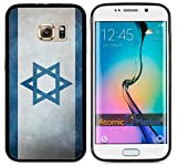 Israel Israeli Flag Grunge For Samsung Galaxy S6 i9700 Case Cover