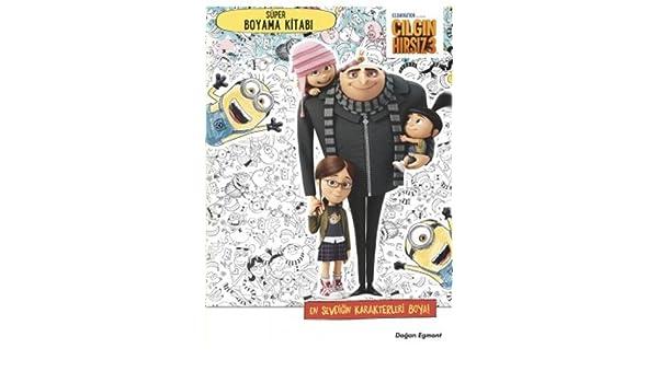 çılgın Hırsız 3 Süper Boyama Kitabı Kolektif 9786050953107