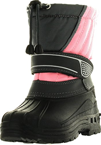 Static Kids Bhd-07 Waterproof Cold Weather Kids Snow Boots W