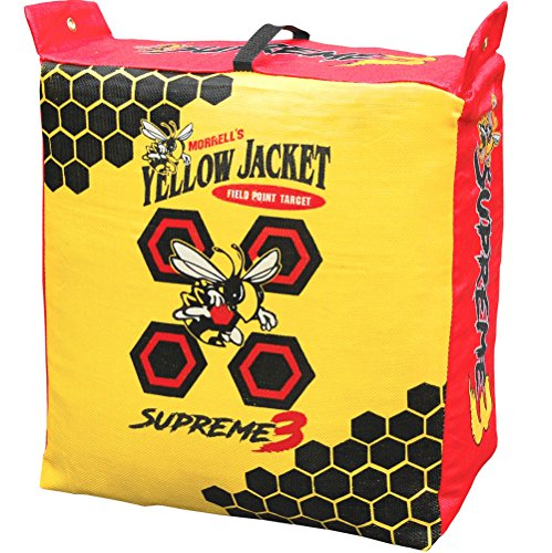 Compound Yellow (Morrell Yellow Jacket Supreme 3 Field Point Bag Archery Target)