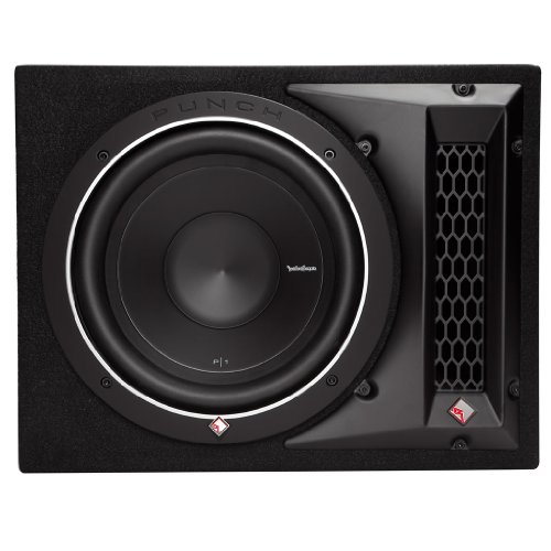 1X10 10-Inch Single Subwoofer Enclosure (Rockford Fosgate Subwoofer Enclosures)
