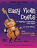 img - for Easy Violin Duets: for Beginning and Intermediate Violin Players book / textbook / text book
