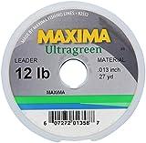 Maxima Fishing Line Leader Wheel, Ultragreen, 12-Pound/7-Yard For Sale